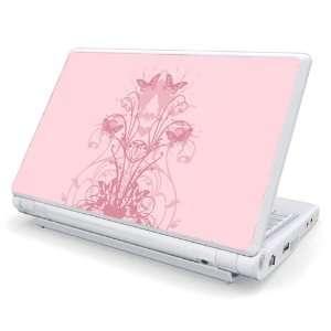 Dell Mini 1010 / 10v Netbook Skin   Butterlfy Pink