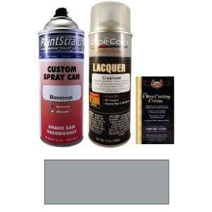 12.5 Oz. Titan Silver Metallic Spray Can Paint Kit for 2004 BMW M3