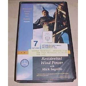 An Introduction to Residential Wind Power Mick Sagrillo Movies & TV