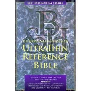 Niv Ultrathin Reference Bible (International Version