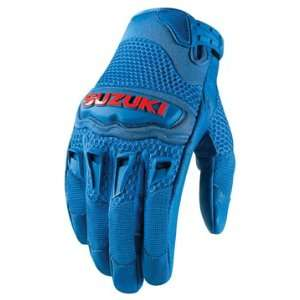 Glove   Blue  Officially Licensed Suzuki Product   Large   3301 1147