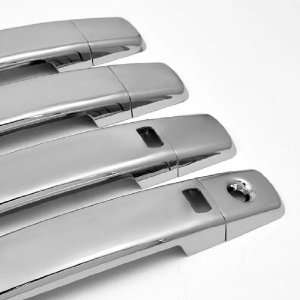 Chrome Plated Door Handle Cover Trim Kit with 2 Smart Accesses