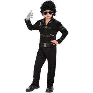 Michael Jackson Bad Childs Fancy Dress Costume S 122cm Toys & Games
