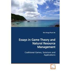 Essays in Game heory and Naural Resource Managemen Coaliional