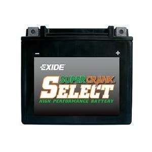 Exide Motorcycle Battery 18L A: Automotive