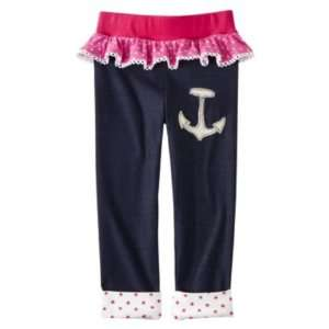 Harajuku Mini for Target Baby Toddler Girls Pink White Anchor Blue