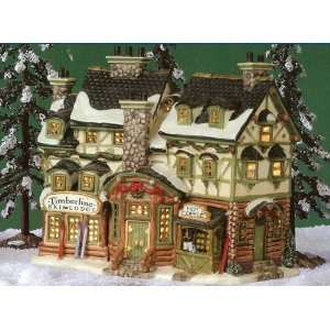 Lemax Christmas Village Collection ~ Ski Lodge ~ 35802
