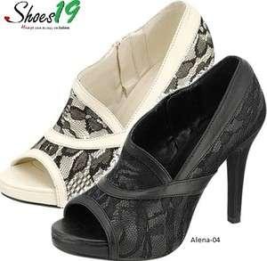 Sexy @ Women Platform Dress Pump High Heel Bootie Shoes