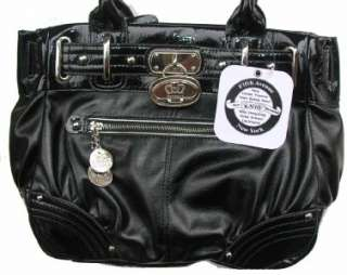 Kathy Van Zeeland Goldie locks Black Shopper Bag Purse