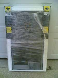 BRAND NEW Nice White VINYL Double Hung WINDOW 24x38