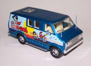 Matchbox Super Kings 79 Custom Van Only Rock N Roll