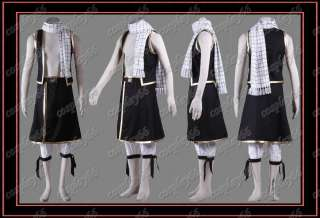 Fairy Tail Natsu Dragneel Cosplay Costume Custom Any Si