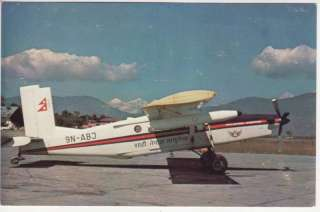 ROYAL NEPAL AIRLINES PILATUS PC 6/B2 H2 TURBO PORTER