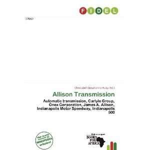 Allison Transmission (9786136565439) Christabel