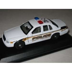 Custom 1/43 Amity Township PA Police Ford Crown Vic Toys