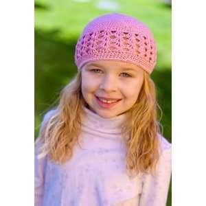 Size 2 My Little Noggin pink Crochet beanie Kufi Hat