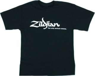 Zildjian Cymbals Classic Black Tee T Shirt   All Sizes