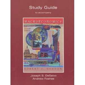 ) Robert J. Gordon, Joseph S. Desalvo, Andrew W. Foshee Books