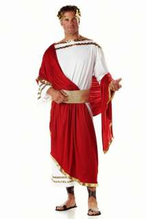 Mens Zeus Toga Outfit Greek Roman Caesar God Costume