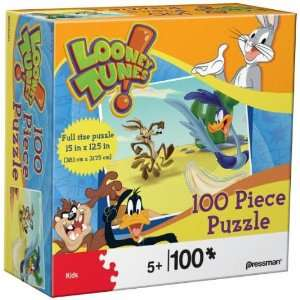 Looney Tunes Coyote & Road Runner 100 Piece Puzzle Toys