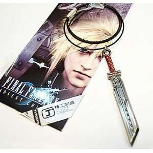 Final Fantasy VII Cloud Sword Necklace