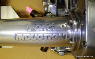 Very Nice Polished Big Block Chevy 177 Mini Blower with Pulleys