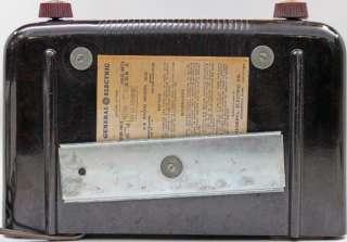 Vintage 1946 General Electric GE Vacuum Tube AM Radio Model 202