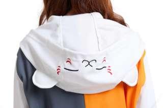 Natsume Yuujinchou Nyanko Sensei Costume Black White Clothing Sweater