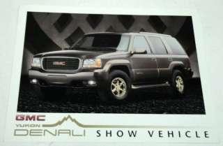 GMC 1997 Yukon Denali Truck Sales Brochure