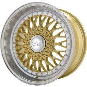 Privat Remember Gold Wheel with Machined Lip (17x9/5x114