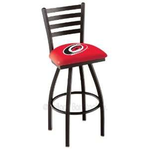 Carolina Hurricanes NHL Hockey L014BW Bar Stool