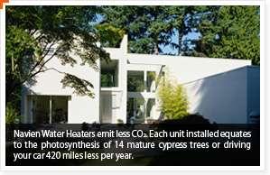 Navien CC180 N 150K BTU NG Commercial Water Heater