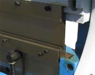 52 Sheet Metal Shear Finger Brake Bender Slip Roller 16 Gauge
