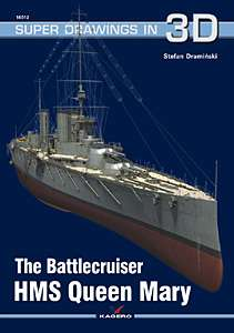 Kagero Publishing The Battlecruiser HMS Queen Mary Naval book
