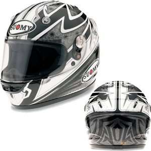 Suomy Vandal Pattern Full Face Helmet Large  Gray