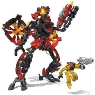 Mega Bloks   Neo Shifters Robot  Blaze Axx  Red Templar