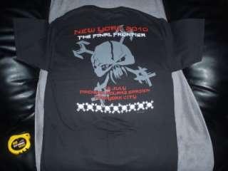 Iron Maiden 2010 Final Frontier New York City Shirt