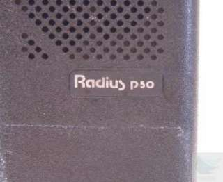 Lot of 2 Motorola Radius P50 2 Way Handie Talkie Radios