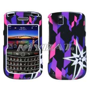 Blackberry 9630 (Tour) 9650 (Bold) Digital Star Pink Faceplate/cases