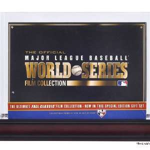 World Series Dvd Collectors Set Display Case: Sports