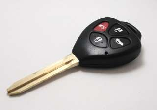 Key Fob Keyless Entry Shell Case For Toyota Corolla Avalon 4B