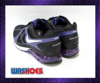 2011 Nike Wmns Air Max Excellerate Black Summit White Purple Noir US 5