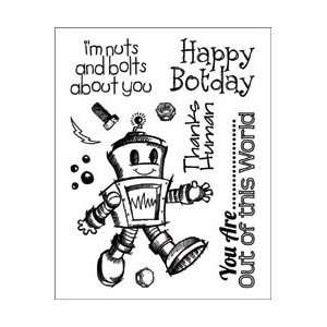 Clear Stamps 3X4   Tin Man by Technique Tuesday Arts, Crafts & Sewing