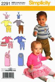 Simplicity pattern #2291 is new. Retail is price $13.95. Stored and