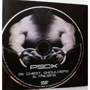 Chest, Shoulders & Triceps with BONUS Ab Ripper X Workout on Same Disc