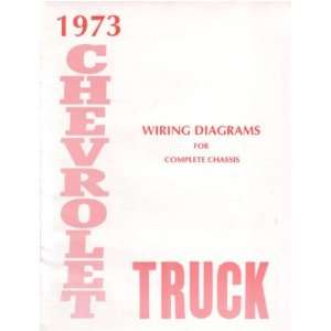 1973 CHEVROLET GMC PICKUP TRUCK Wiring Diagrams Automotive