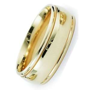 Millimeters Yellow Gold Wedding Band Ring 14Kt Gold, Comfort Fit Style