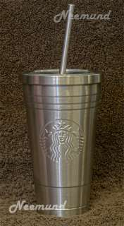 16oz Stainless Steel Cold To Go Tumbler Reusable Travel Cup