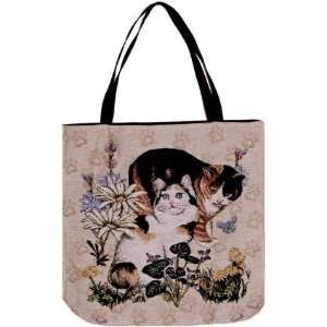 Meow Mix Cat Theme Decorative Shopping Tote Bag 17 x 17