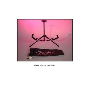 Fender Mini Acoustic Guitar Stand: Sports & Outdoors